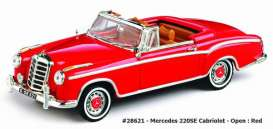 Mercedes Benz  - 1959 red - 1:43 - Vitesse SunStar - 28621 - vss28621 | The Diecast Company