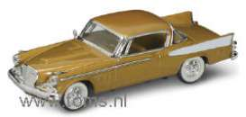 Studebaker  - 1958 gold - 1:43 - Yatming - yat94254gd | The Diecast Company