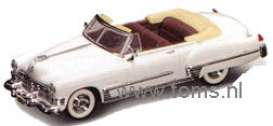 Cadillac  - 1949 white - 1:43 - Yatming - yat94223w | The Diecast Company