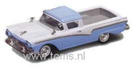 Ford  - 1957 blue/white - 1:43 - Yatming - yat94215b | The Diecast Company