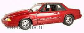 Ford  - 1989 red - 1:18 - Acme Diecast - gmp8067 | The Diecast Company