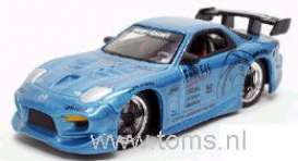 Mazda  - light blue - 1:64 - Jada Toys - 12005-1 - jada12005-1 | The Diecast Company