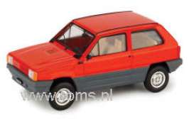 Fiat  - 1980 red - 1:43 - Brumm - bruor387r | The Diecast Company