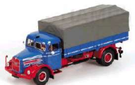 MAN  - 1954 blue/red - 1:43 - Minichamps - 439070022 - mc439070022 | The Diecast Company