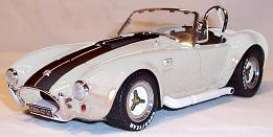 Shelby Cobra - 1965 silver/black - 1:18 - Shelby Collectibles - shelby42703c | The Diecast Company