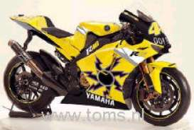Yamaha  - 2005 black/yellow - 1:6 - Guiloy - guiloy16211 | The Diecast Company