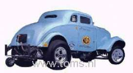 Willys  - 1933 blue - 1:18 - Precision Miniatures - prm04 | The Diecast Company