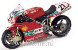 Ducati  - 2001 red - 1:24 - IXO Models - rab025 - ixrab025 | The Diecast Company