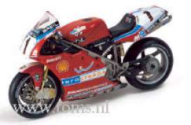 Ducati  - 2002 red - 1:24 - IXO Models - rab046 - ixrab046 | The Diecast Company