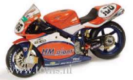 Ducati  - 2002 orange - 1:24 - IXO Models - rab049 - ixrab049 | The Diecast Company