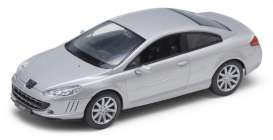 Peugeot  - 2005 silver - 1:24 - Welly - 22475s - welly22475s | The Diecast Company