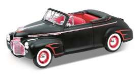 Chevrolet  - 1941 satin black - 1:18 - Welly - 19862pbk - welly19862pbk | The Diecast Company