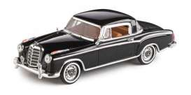 Mercedes Benz  - 220 SE Coupe 1959 black - 1:43 - Vitesse SunStar - 28663 - vss28663 | The Diecast Company