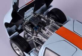 Ford  - GT Concept 2004 gulf blue/orange - 1:12 - Motor Max - 79639 - mmax79639 | The Diecast Company