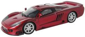 Saleen  - S7 Twin Turbo 2005 metallic red - 1:12 - Motor Max - 73005 - mmax73005r | The Diecast Company