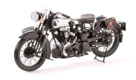 Minichamps - Brough  - mc122135500 : Brough Superior SS 100 T.E.Lawrence 1925-1935