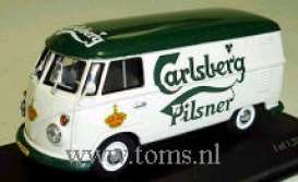 Volkswagen  - 1963 white/green - 1:43 - Minichamps - 430052209 - mc430052209 | The Diecast Company