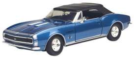 Chevrolet  - 1967 metallic blue - 1:24 - Motor Max - 73293b - mmax73293b | The Diecast Company