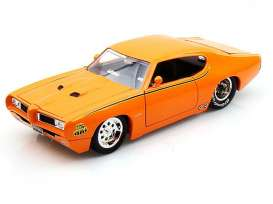 Pontiac  - 1969 orange - 1:24 - Jada Toys - 90344o - jada90344o | The Diecast Company