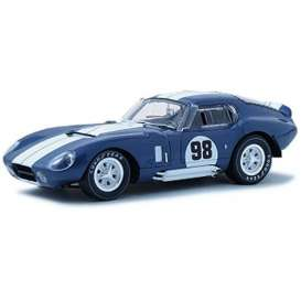 Shelby Collectibles - Shelby  - shelby130 : 1965 Shelby Cobra Daytona Coupe #98, blue/white