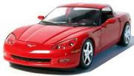 Corvette  - Coupe 2005 victory red - 1:24 - GreenLight - 18202 - gl18202r | The Diecast Company