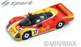 Porsche  - 1988 red/yellow - 1:43 - Spark - S0901 - spaS0901 | The Diecast Company