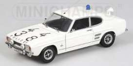 Ford  - 1969 white - 1:18 - Minichamps - 150089090 - mc150089090 | The Diecast Company