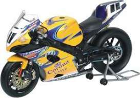 Suzuki  - 2005 yellow/blue - 1:12 - Minichamps - 122052211 - mc122052211 | The Diecast Company