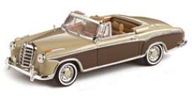 Mercedes Benz  - 1959 light fawn/mid brown - 1:43 - Vitesse SunStar - 28623 - vss28623 | The Diecast Company