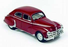 Peugeot  - 1953 burgundy - 1:43 - Norev - 470507 - nor470507 | The Diecast Company