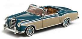 Mercedes Benz  - 1959 light blue/cream - 1:43 - Vitesse SunStar - vss28625 | The Diecast Company