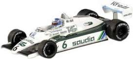 Minichamps - Williams Ford - mc436820106 : 1982 Williams Ford FW08 Rosberg World Champion, white/green