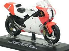 Yamaha  - 1992 white/orange - 1:22 - Italeri - 8445023 - ita8445023 | The Diecast Company