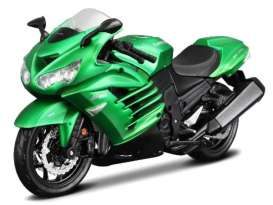 Kawasaki  - green metallic - 1:12 - Maisto - mai39055 | The Diecast Company