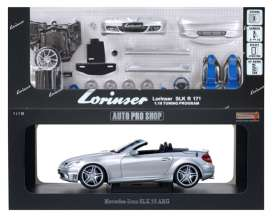 Mercedes Benz  - silver - 1:18 - Auto Pro Shop Hotworks - ms41803D2 | The Diecast Company