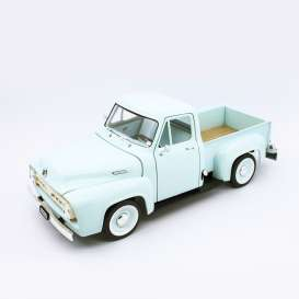 Ford  - F-100 1953 light green - 1:18 - Lucky Diecast - 92148 - ldc92148lgn | The Diecast Company
