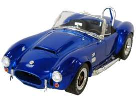 Shelby Cobra - 1966 guardsman blue - 1:18 - Shelby Collectibles - shelby125 | The Diecast Company
