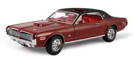 Mercury  - Cougar XR7G 1968 red - 1:18 - SunStar - sun1570 | The Diecast Company