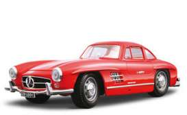 Mercedes Benz  - 1954 red - 1:18 - Bburago - 12047r - bura12047r | The Diecast Company