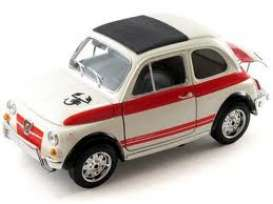 Fiat  - white/orange - 1:18 - Bburago - 12059 - bura12059 | The Diecast Company