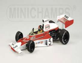 McLaren  - 1975 red/white - 1:18 - Minichamps - 530751801 - mc530751801 | The Diecast Company
