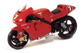 Yamaha  - 2002 red - 1:24 - IXO Models - rab034 - ixrab034 | The Diecast Company