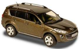 Peugeot  - 2007 gold - 1:43 - Norev - nor474071 | The Diecast Company