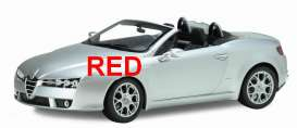 Alfa Romeo  - Spider 2007 red - 1:18 - Welly - 18007Cr - welly18007Cr | The Diecast Company
