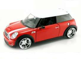 Mini  - 2007 red - 1:24 - Jada Toys - 91796r - jada91796r | The Diecast Company