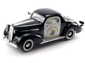 Pontiac  - 1936 black/white - 1:18 - Signature Models - sig18140 | The Diecast Company