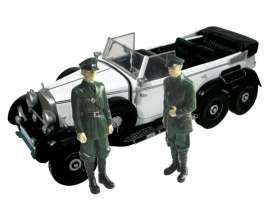 Mercedes Benz  - 1938 white/black - 1:18 - Signature Models - sig38202w | The Diecast Company
