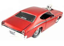 Chevrolet  - 1969 red - 1:24 - Jada Toys - 91914r - jada91914r | The Diecast Company