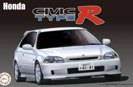 Honda  - Cívic Type R late model (EK9)  - 1:24 - Fujimi - 039879 - fuji039879 | The Diecast Company