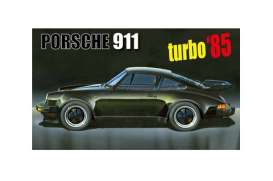Porsche  - 911 Turbo 1985  - 1:24 - Fujimi - 126593 - fuji126593 | The Diecast Company